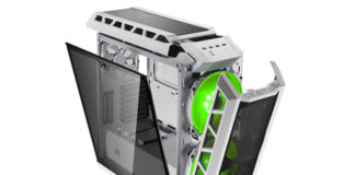 H500P MESH WHITE_45degree-01-open-light_Green Feature