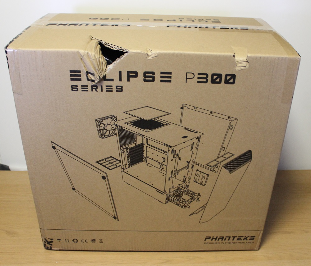 Phanteks P300 Box Back