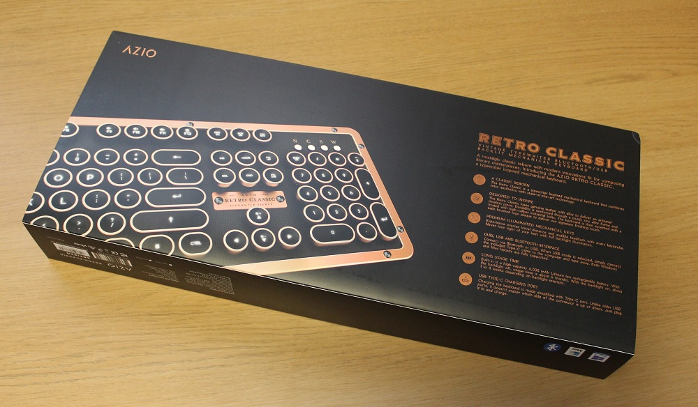 Azio Retro Classic Box Bottom