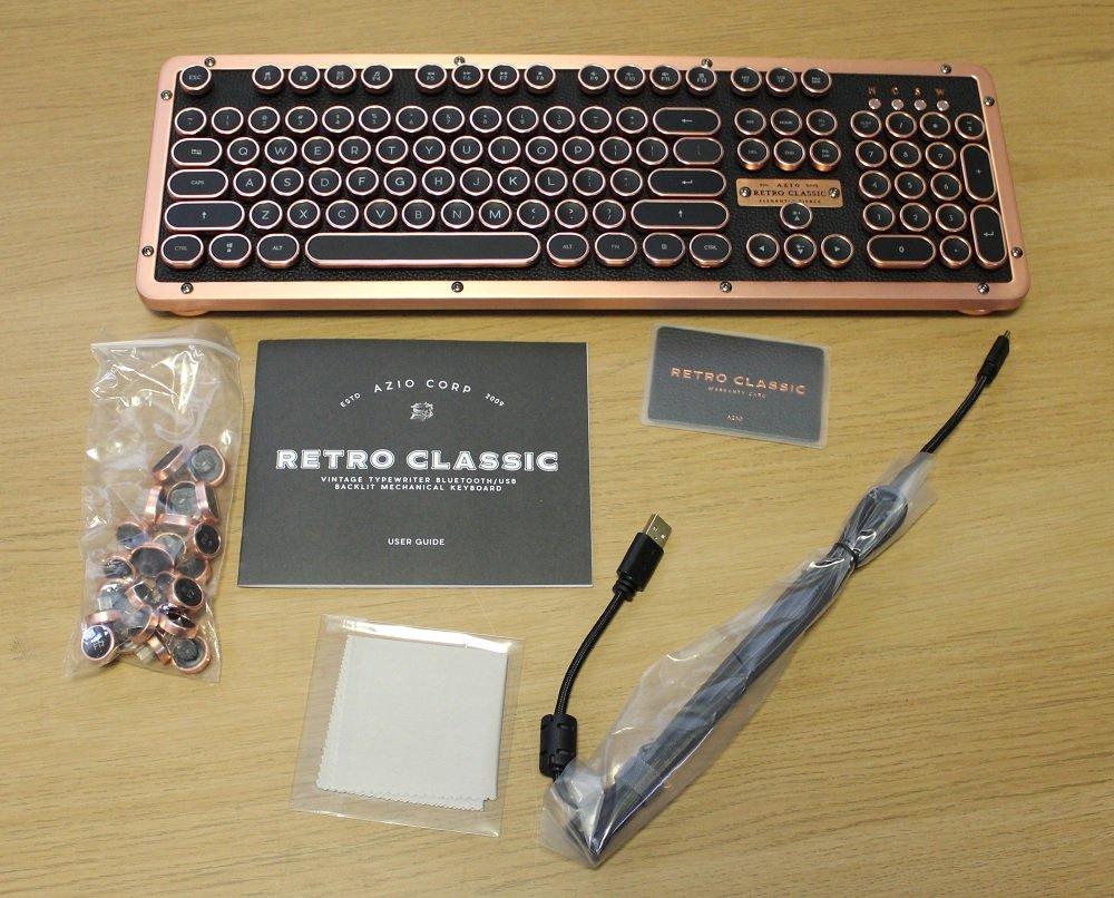 Azio Retro Classic Box Contents
