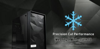 Fractal Design Meshify C Mini Dark TG Feature