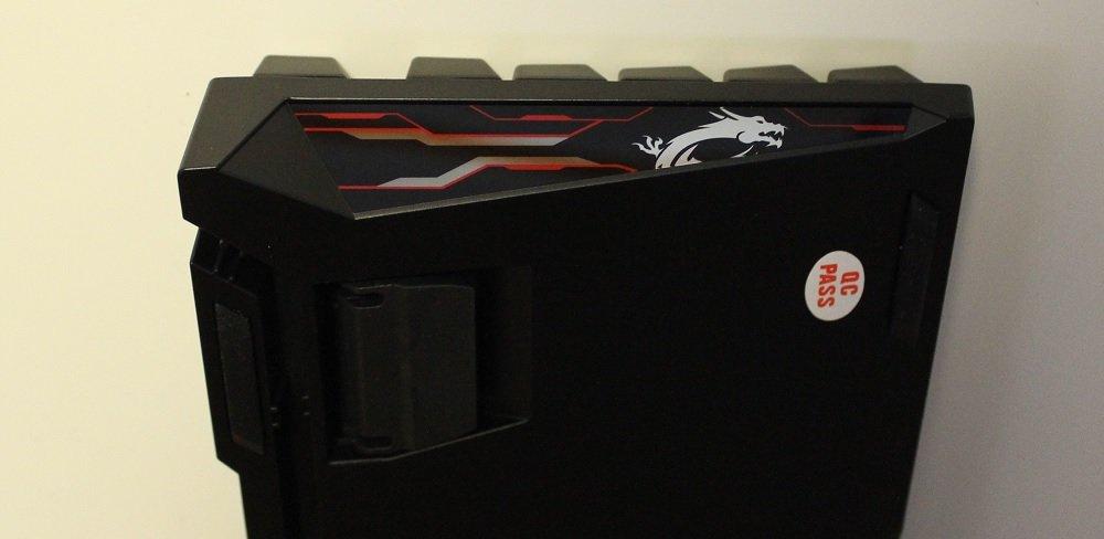 MSI Vigor GK70 edge design