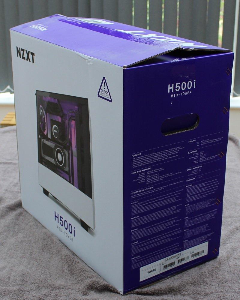 NZXT H500i inner box