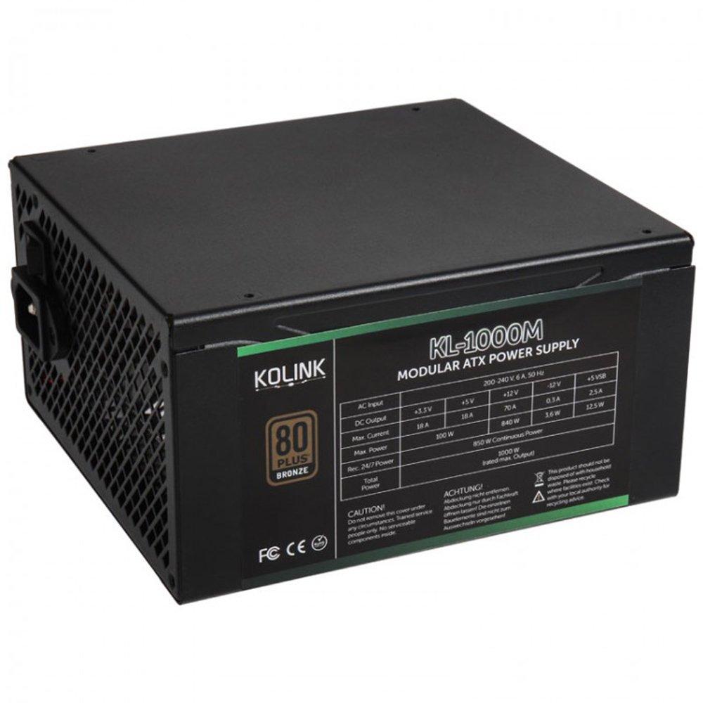 OCUK Kolink KL-1000M 1000W 80 Plus