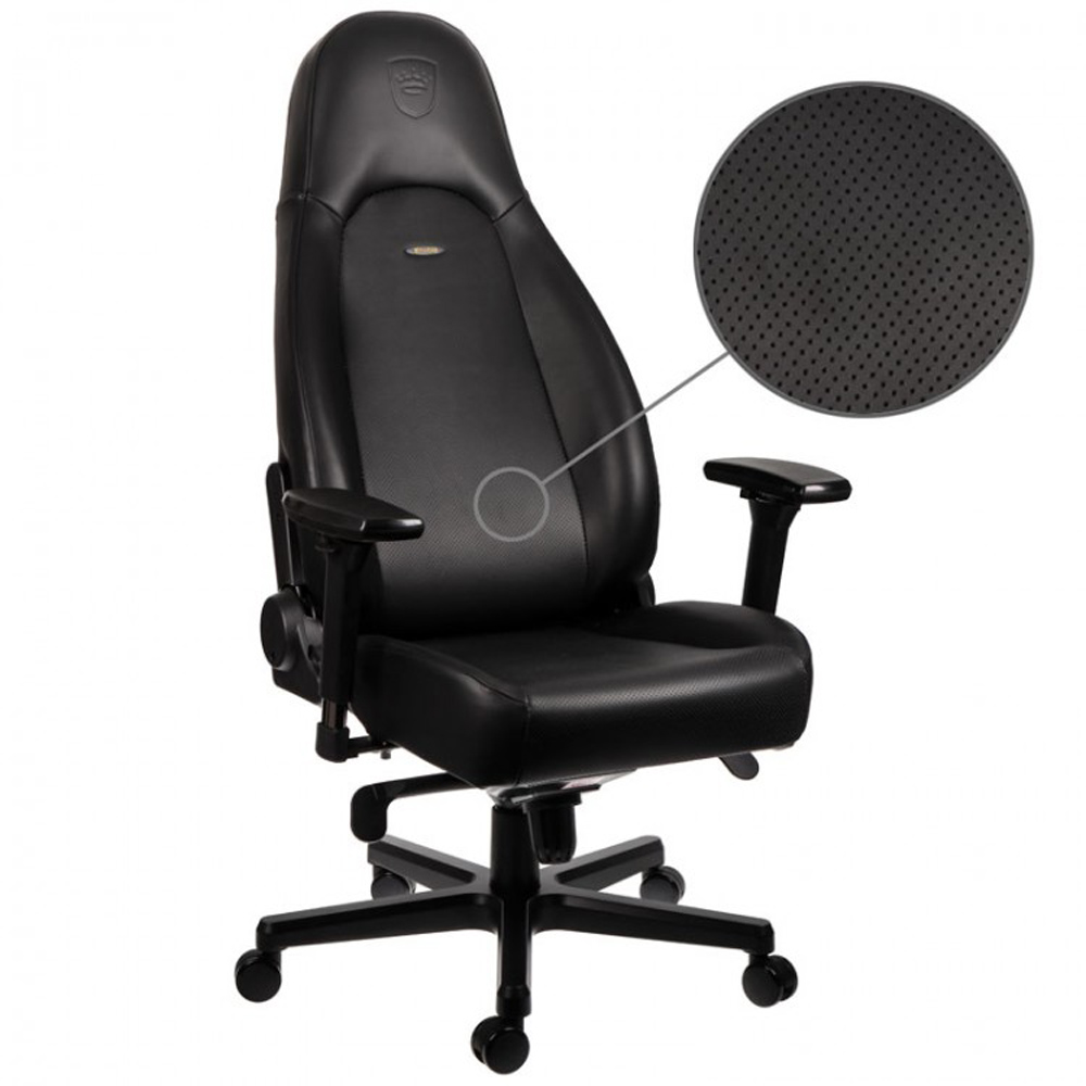 OCUK noblechairs Real Nappa Leather ICON