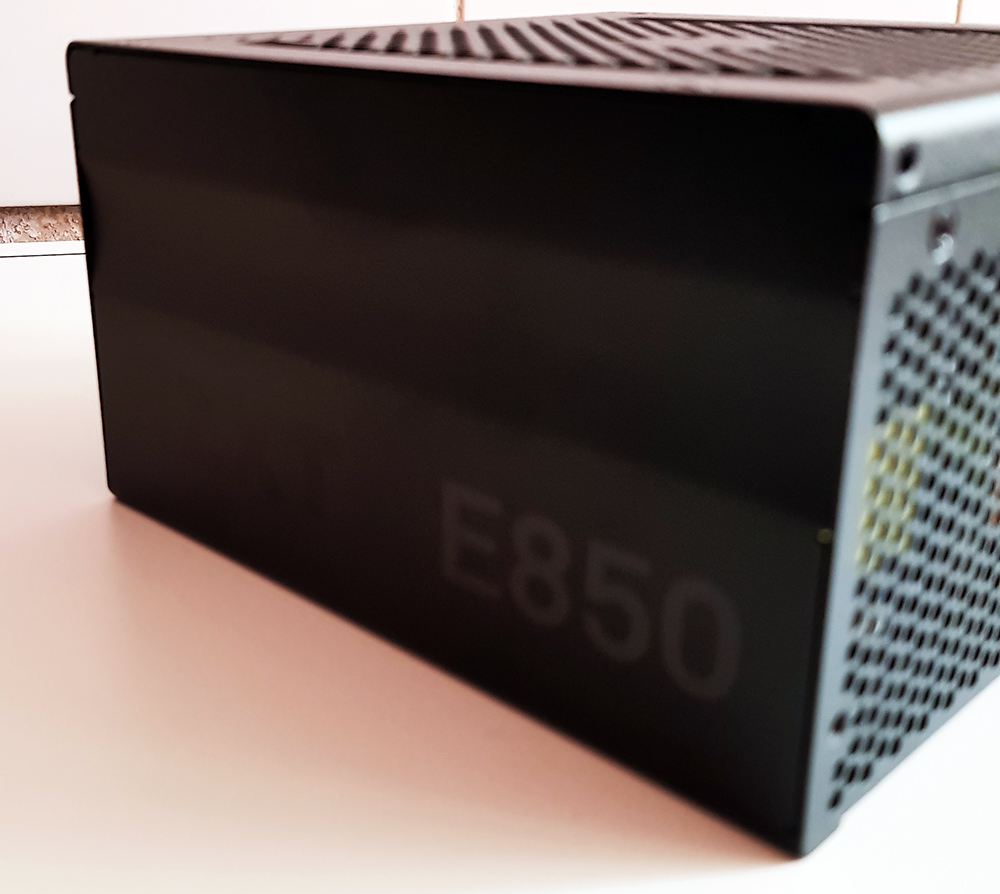 NZXT E850 850W Power Supply Side 2