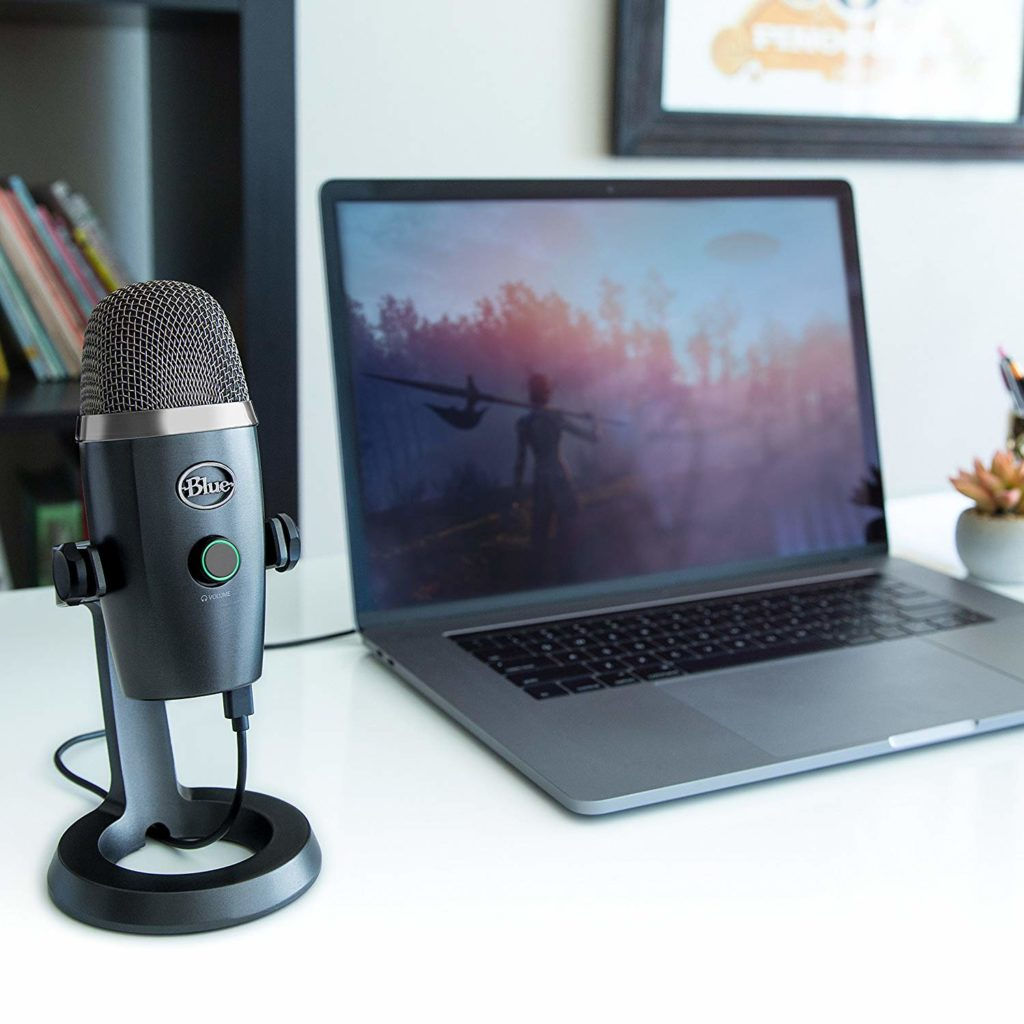 Blue Yeti Nano Plugged In