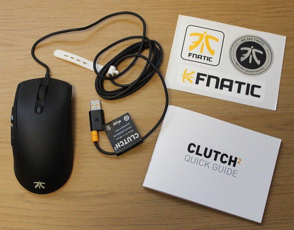 Fnatic Clutch 2 box contents