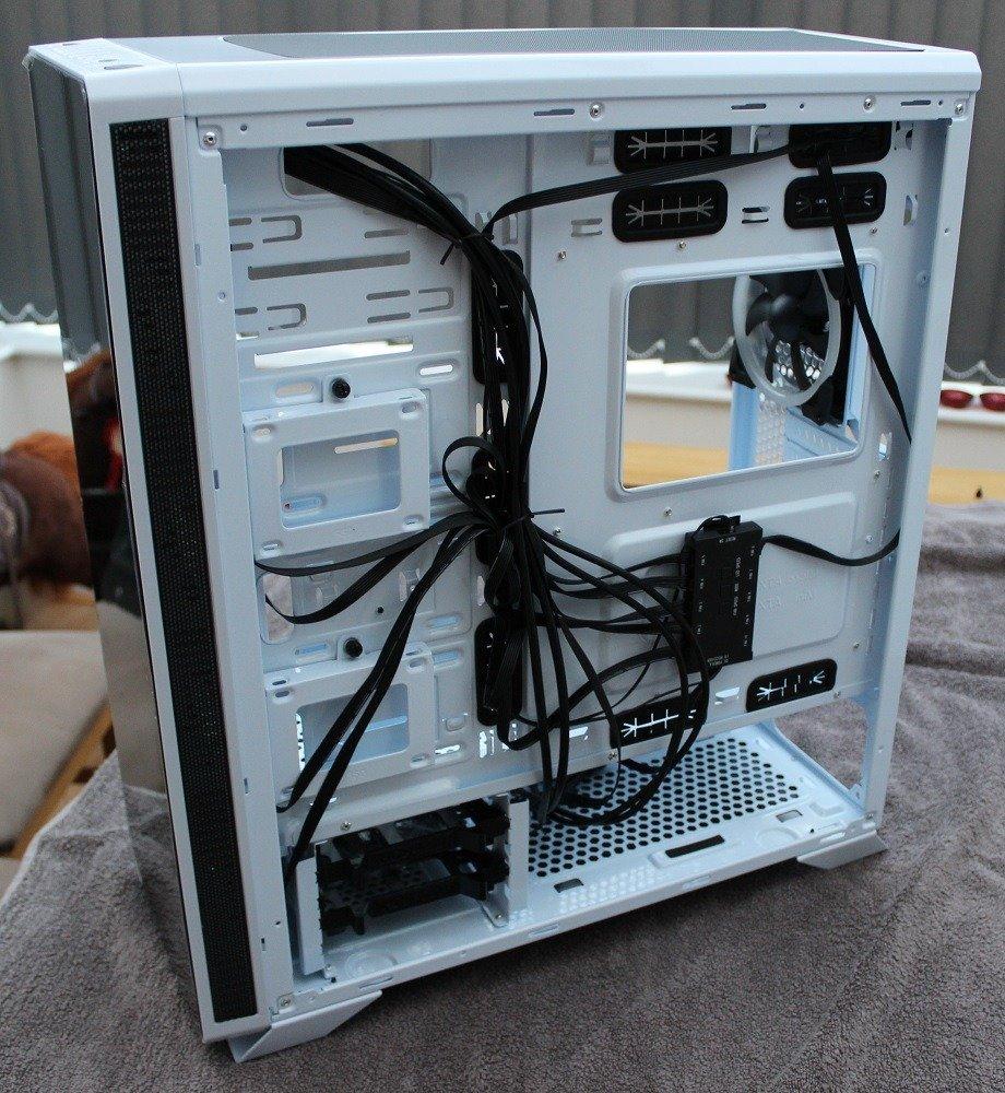 sahara p75 cabling area