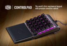 Cooler Master control_pad_hero Feature