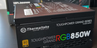 Thermaltake Toughpower Grand RGB 850 watt Power Supply Review Featured Image