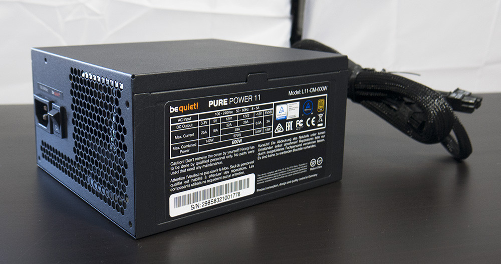 be quiet! Pure Power 11 600W Power Supply 1