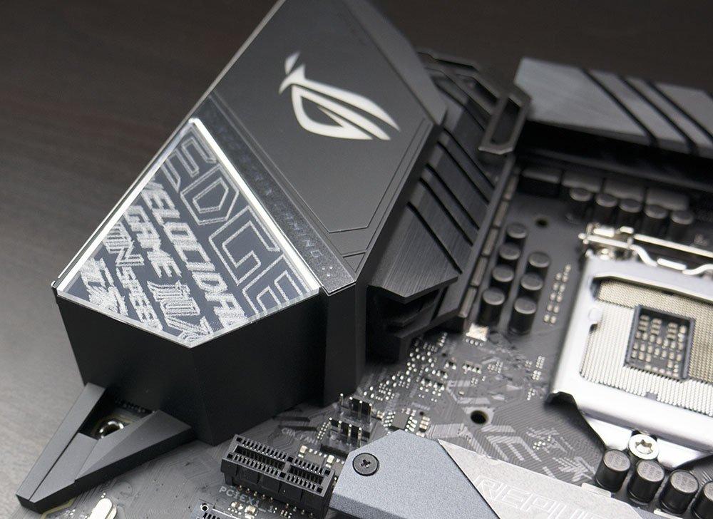 ASUS ROG STRIX Z390-E Gaming Motherboard Rear Panel