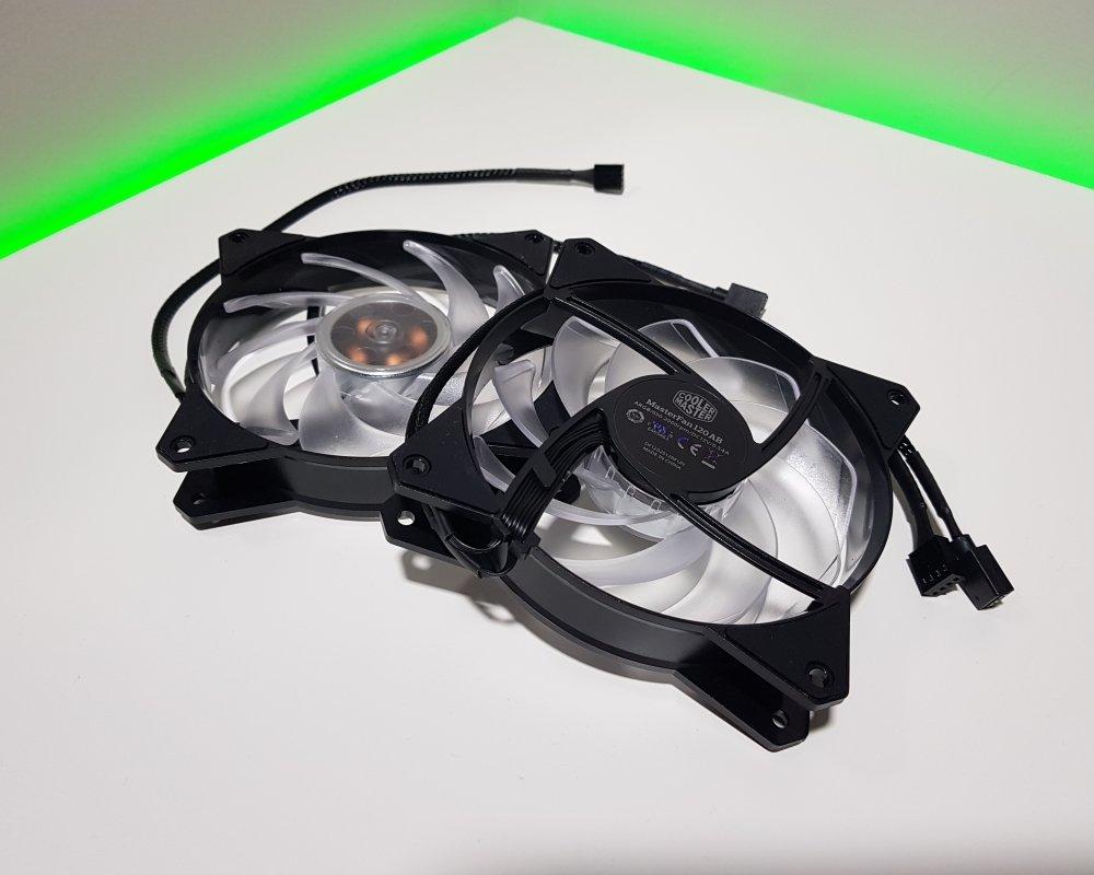 CM ML120R RGB Fans
