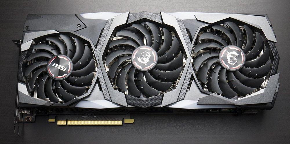 MSI RTX 2080 Ti Gaming X Trio Graphics Card Cooler