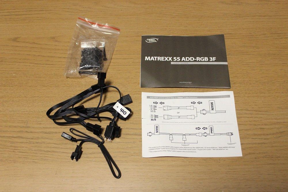 Deepcool Matrexx 55 Add RGB accessories