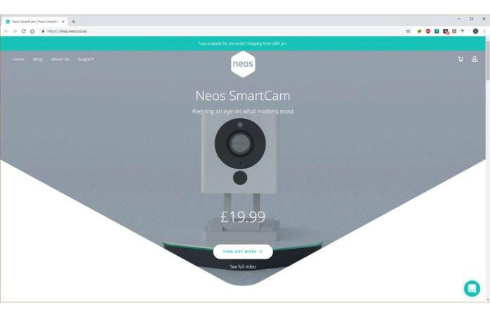 Neos SmartCam Feature