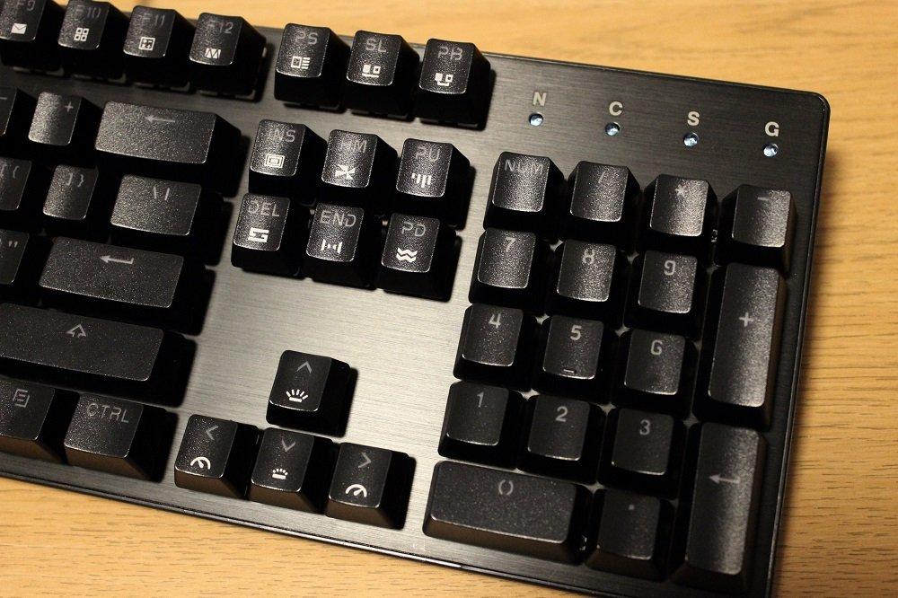 drevo tyrfing v2 keyboard brushed metal top plate
