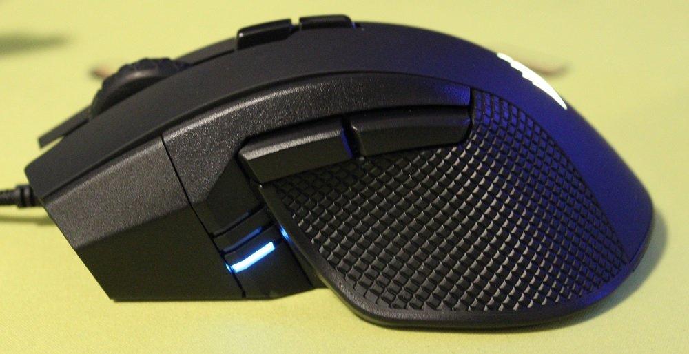 Corsair Ironclaw RGB mouse DPI LED
