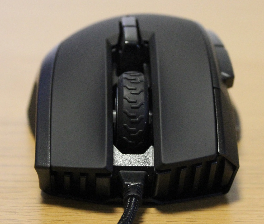 Corsair Ironclaw RGB mouse front