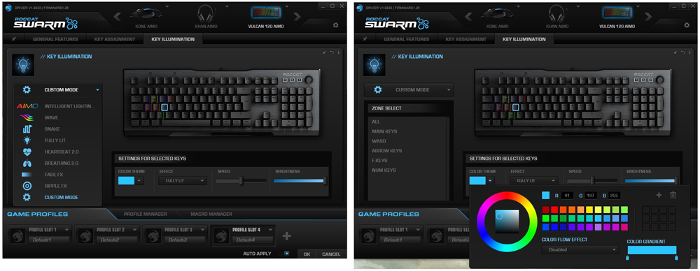 Roccat Swarm Key Illumination
